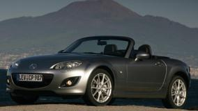 2009 Mazda MX-5 In Grey Front Side Pose